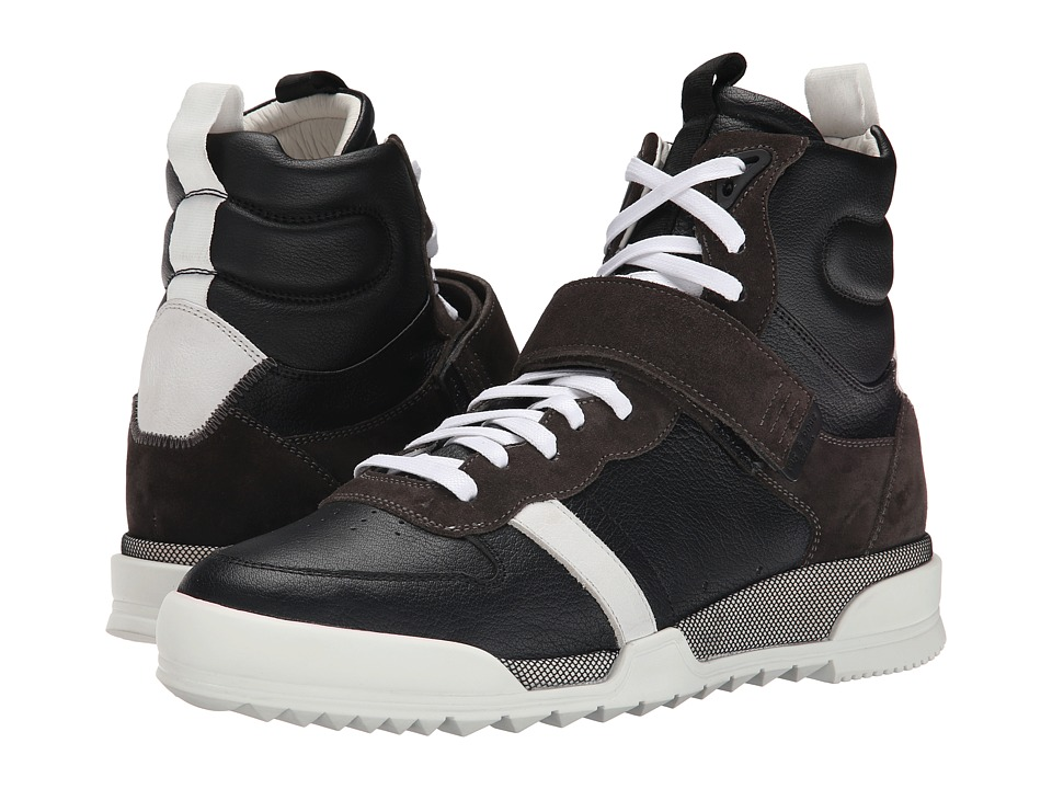rag & bone - Trainer High (Black Combo) Men's Shoes