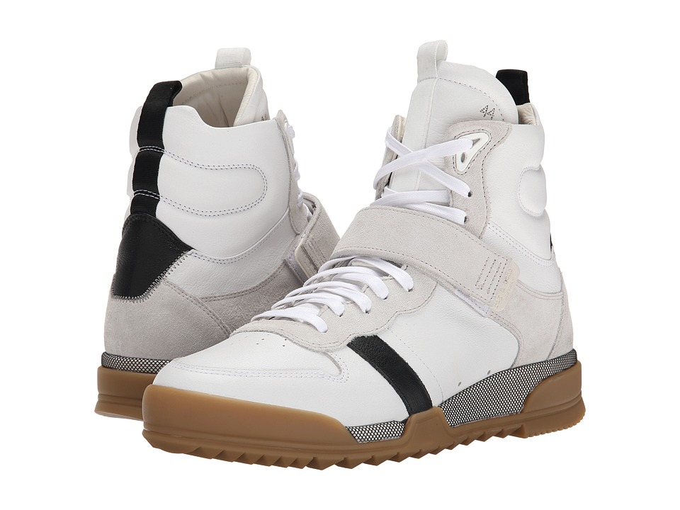 rag & bone - Trainer High (White Combo) Men's Shoes