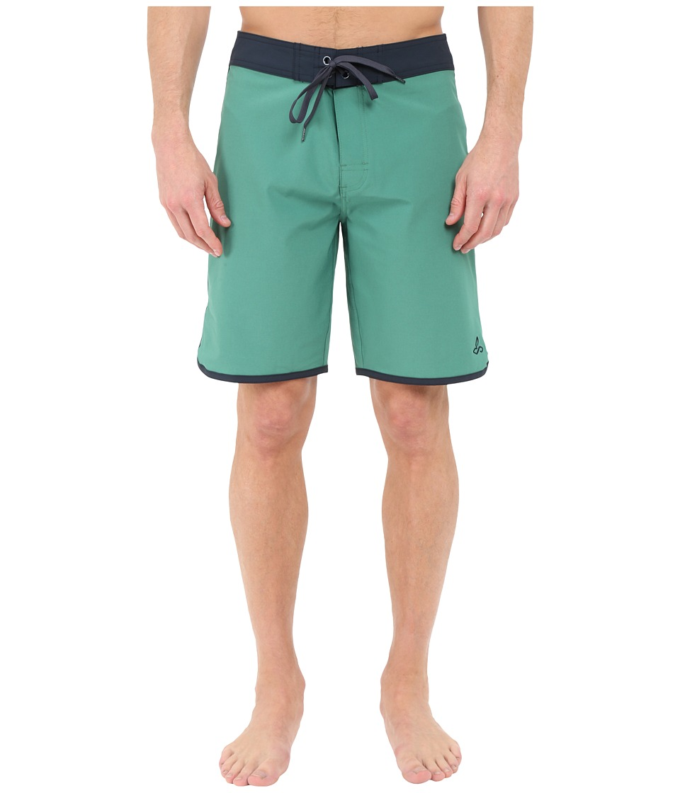 Prana High Seas Shorts (Dusty Pine) Men