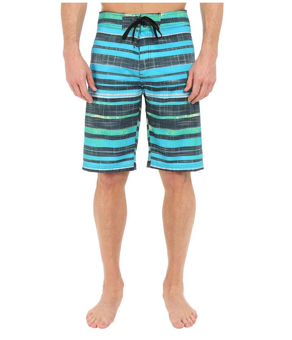 Prana Sediment Short (Baja Blue) Men