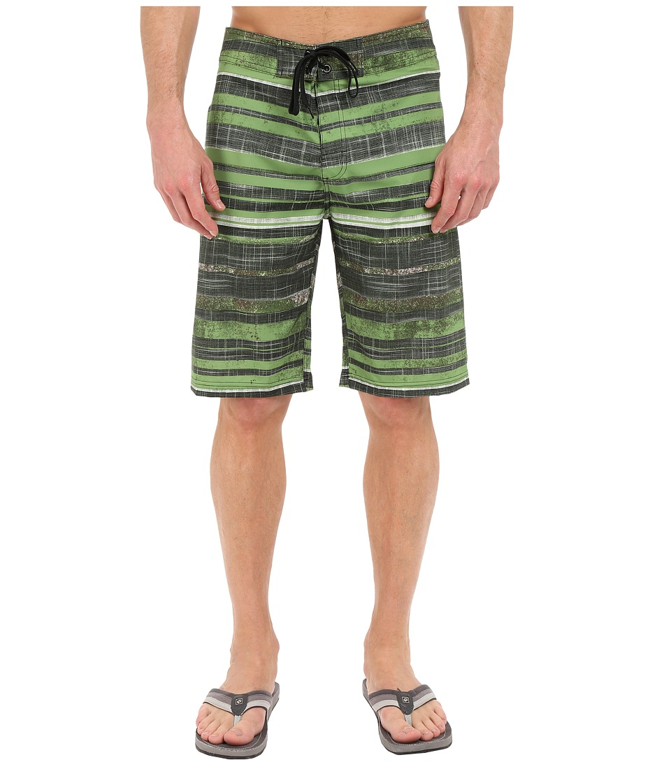 Prana - Sediment Short (Sour Apple) Men's Swimwear