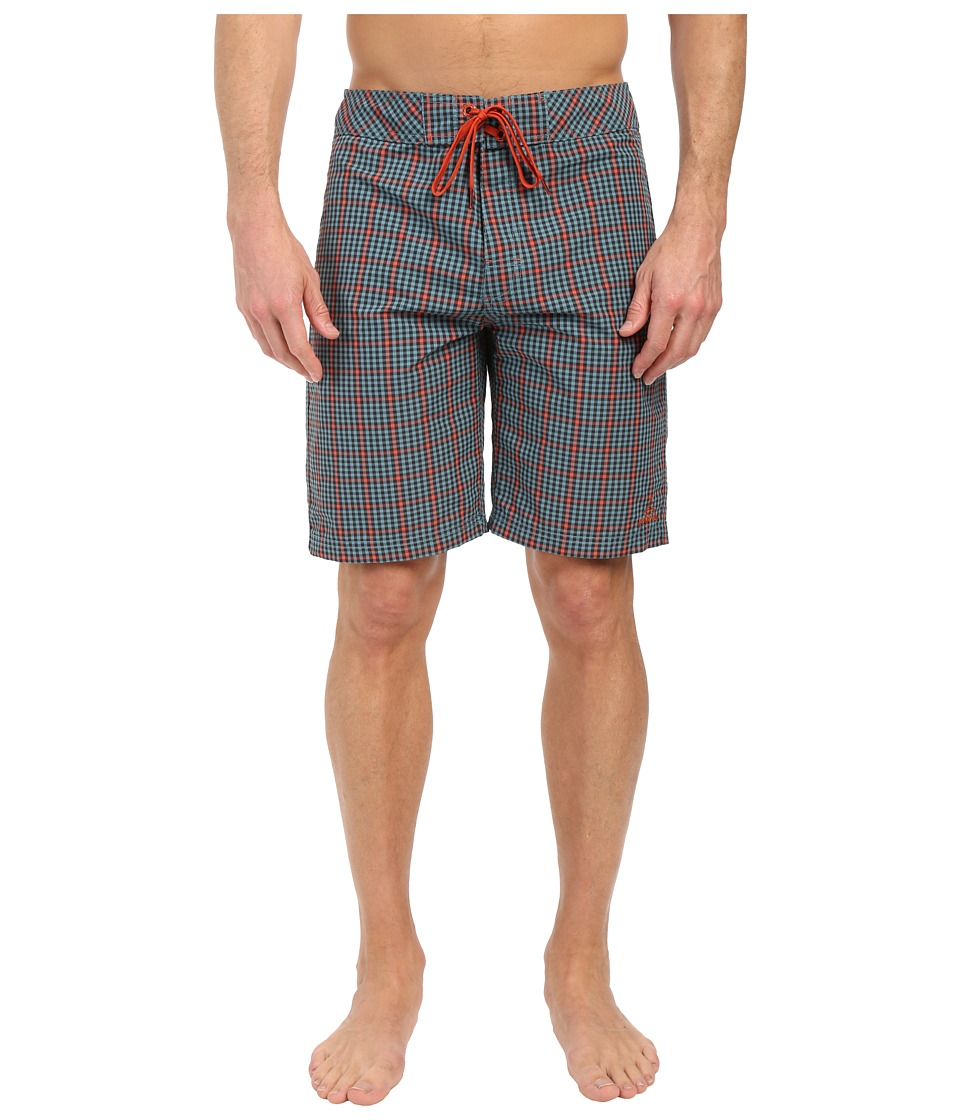 Prana - El Porto Short (Retro Teal) Men's Swimwear