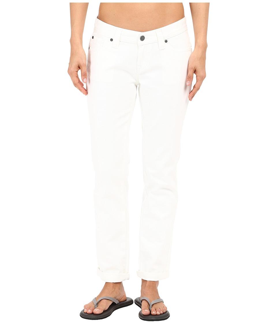 Prana - Honour Jean (White) Women's Jeans