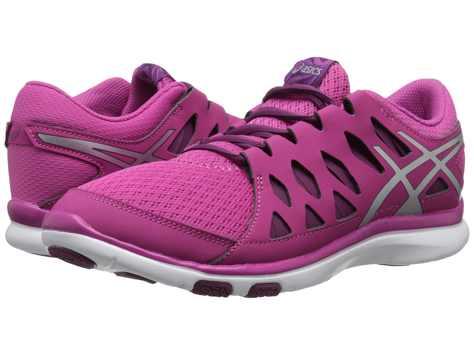 ASICS - GEL-Fit Tempo 2 (Berry/Silver/Plum) Women's Cross Training Shoes