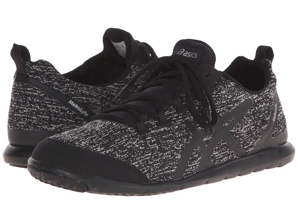 ASICS - Metrolyte (Black/Black/Iris) Women's Shoes