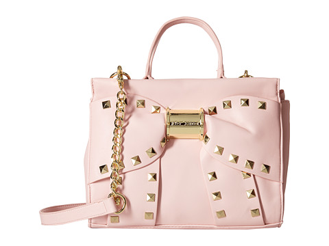Betsey Johnson - Viva La Bow Medium Satchel (Blush) Satchel Handbags