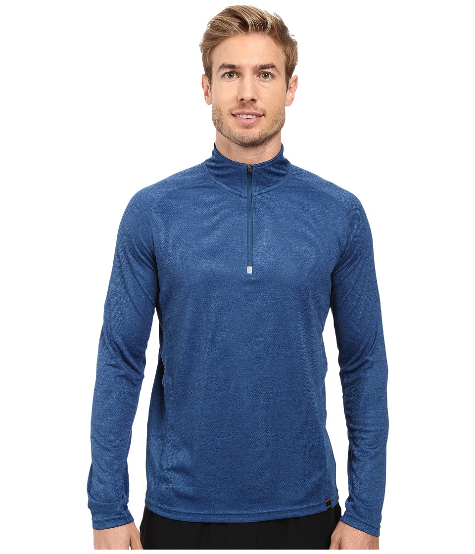 Prana - Orion 1/4 Zip (Blue Ridge) Men's T Shirt