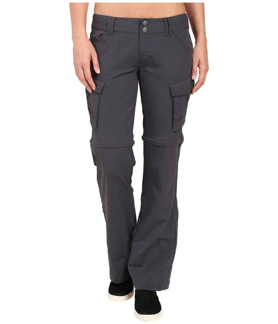Prana Sage Convertible Pants (Coal) Women