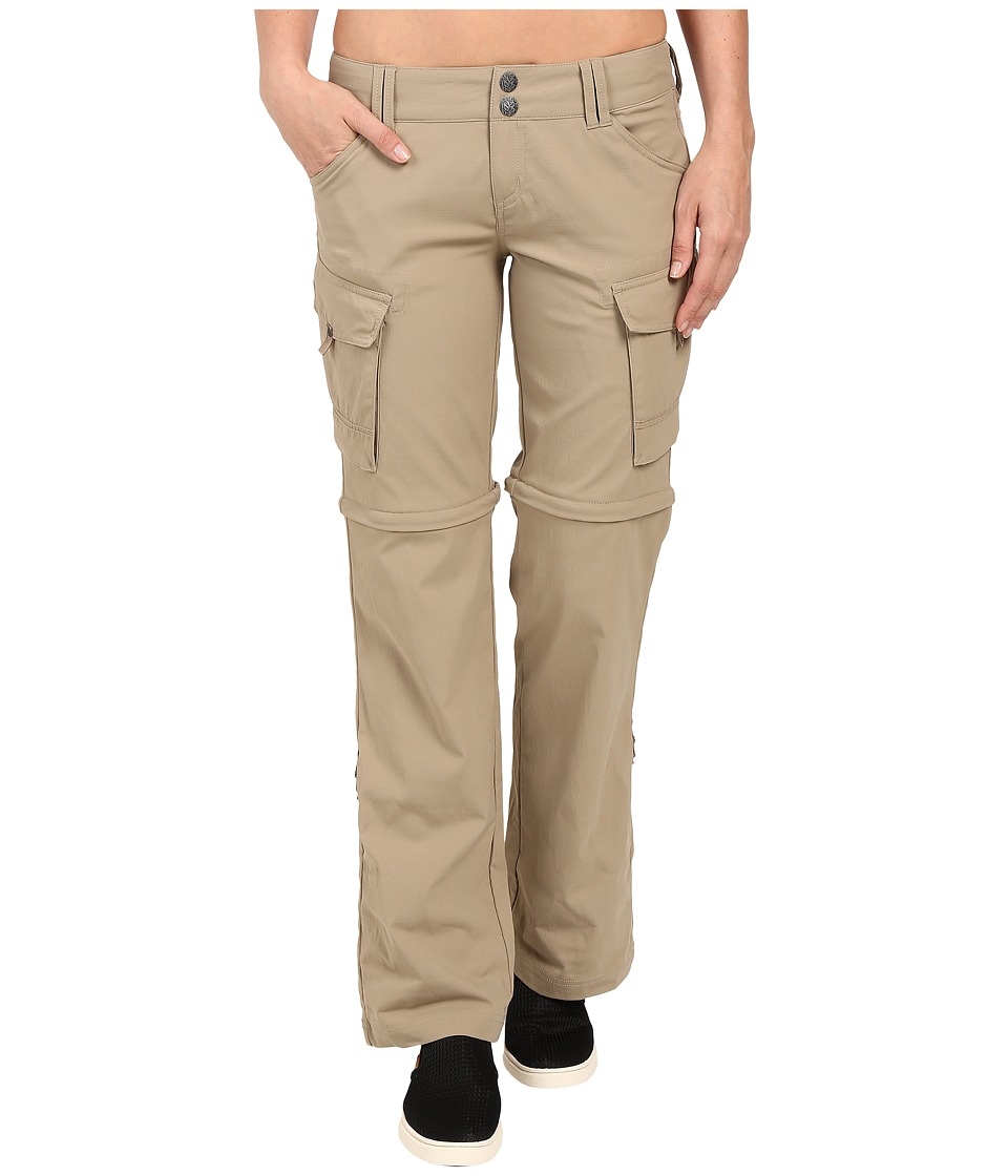Prana - Sage Convertible Pants (Dark Khaki) Women's Casual Pants