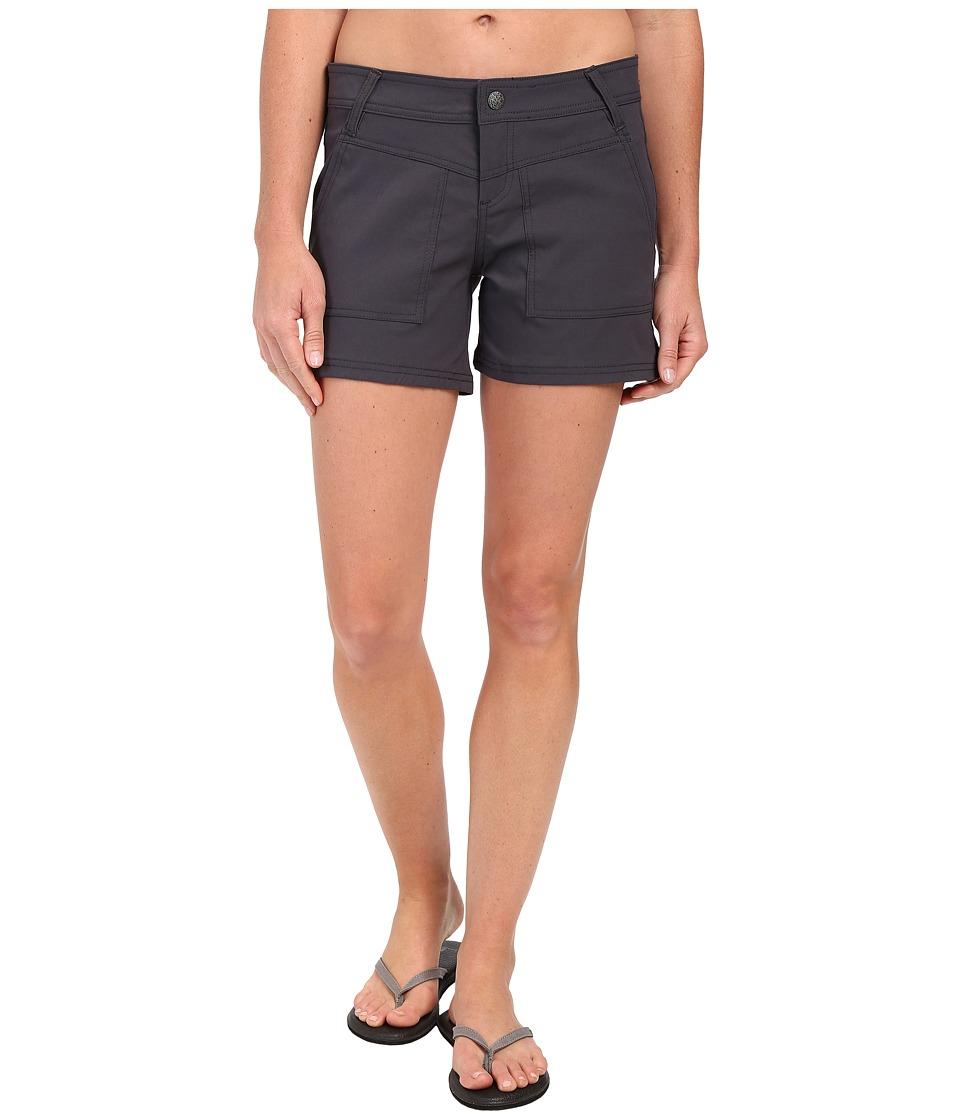 Prana - Asha Short (Coal) Women's Shorts
