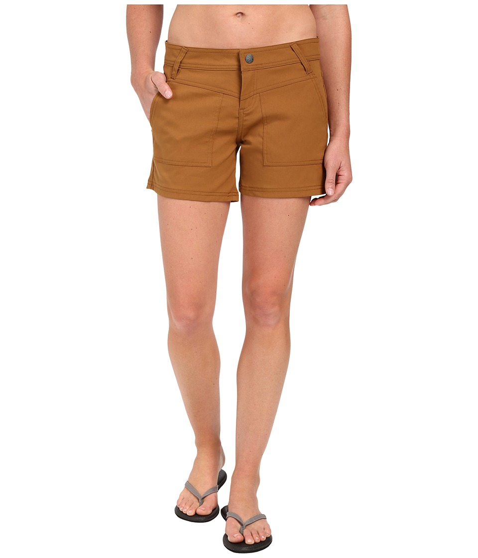 Prana - Asha Short (Dark Ginger) Women's Shorts