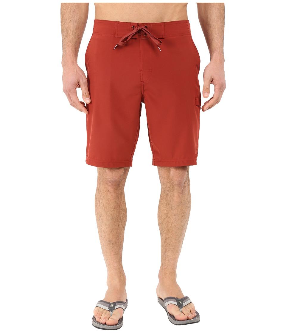 Prana - Basalt Studio Short (Brick) Men's Shorts