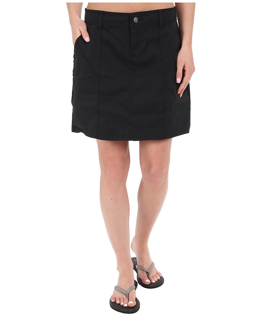 Prana - Monarch Skirt (Black) Women's Skirt
