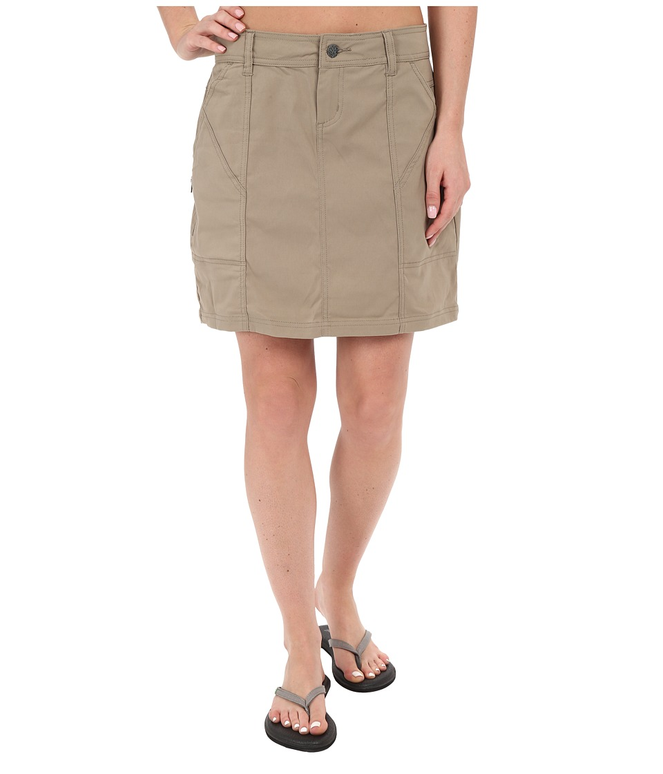 Prana Monarch Skirt (Dark Khaki) Women