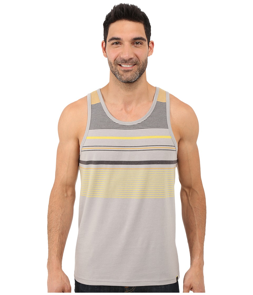 Prana - Throttle Tank Top (Greystone) Men's Sleeveless