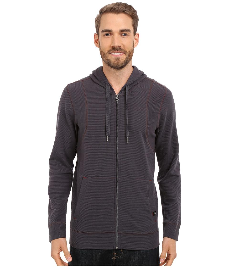 Prana - Barringer Hoodie (Coal) Men's Sweatshirt