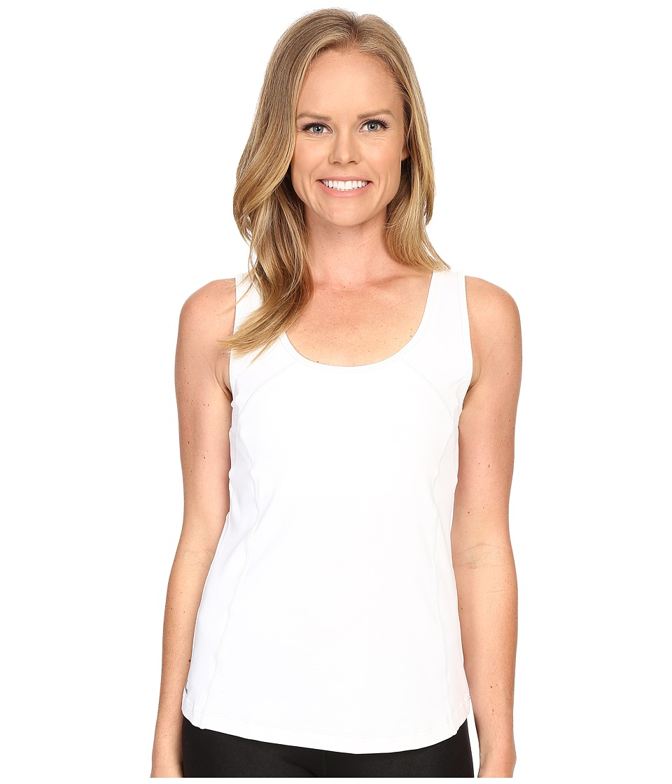 Lole - Profile Tank Top (White 2) Women's Sleeveless