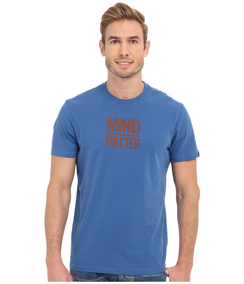 Prana Mind/Matter T-Shirt (Vintage Cobalt) Men