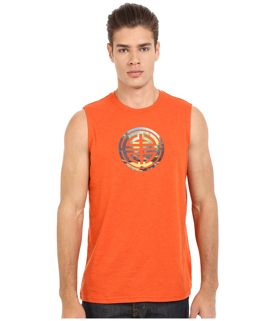 Prana - Long Life Sleeveless (Cayenne) Men's Sleeveless