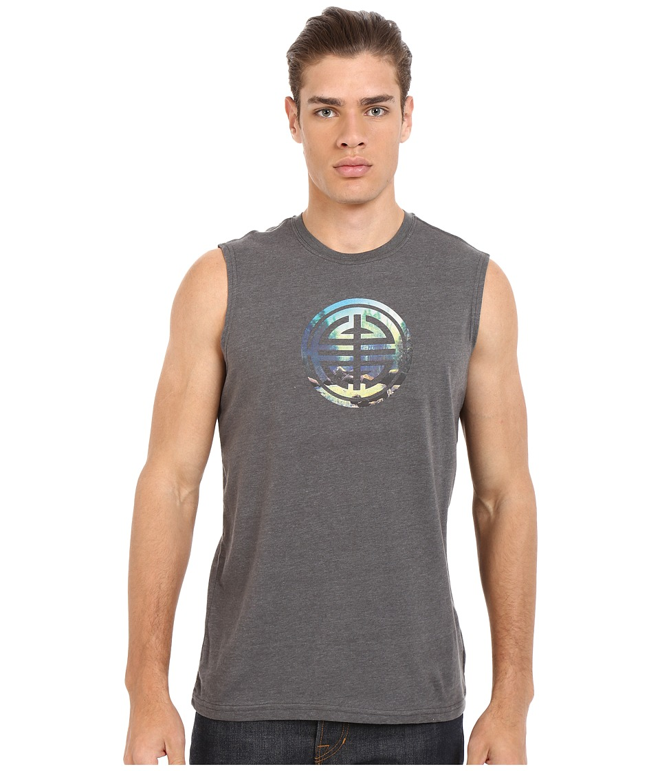 Prana - Long Life Sleeveless (Charcoal) Men's Sleeveless