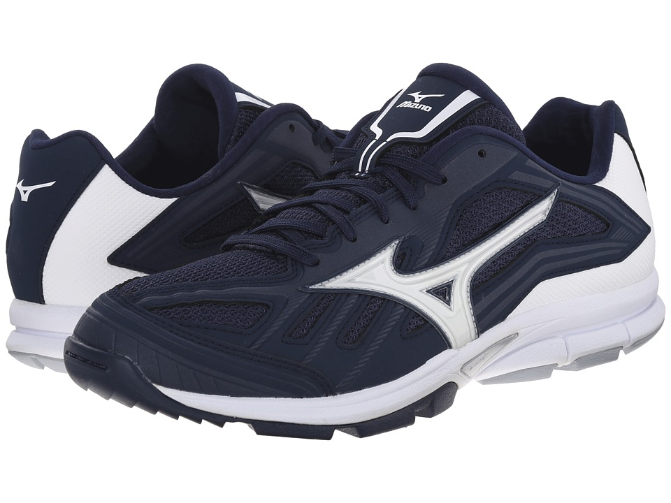 Mizuno - Players Trainer (Navy/White) Men's Shoes