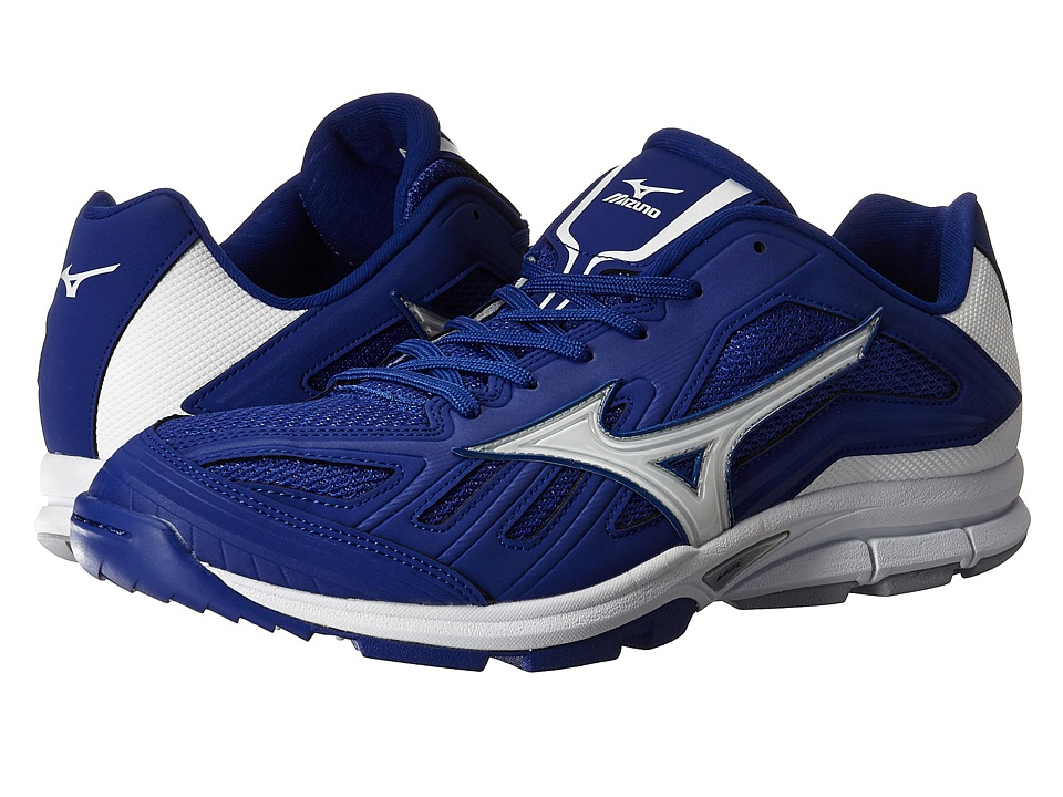 Mizuno - Players Trainer (Royal/White) Men's Shoes