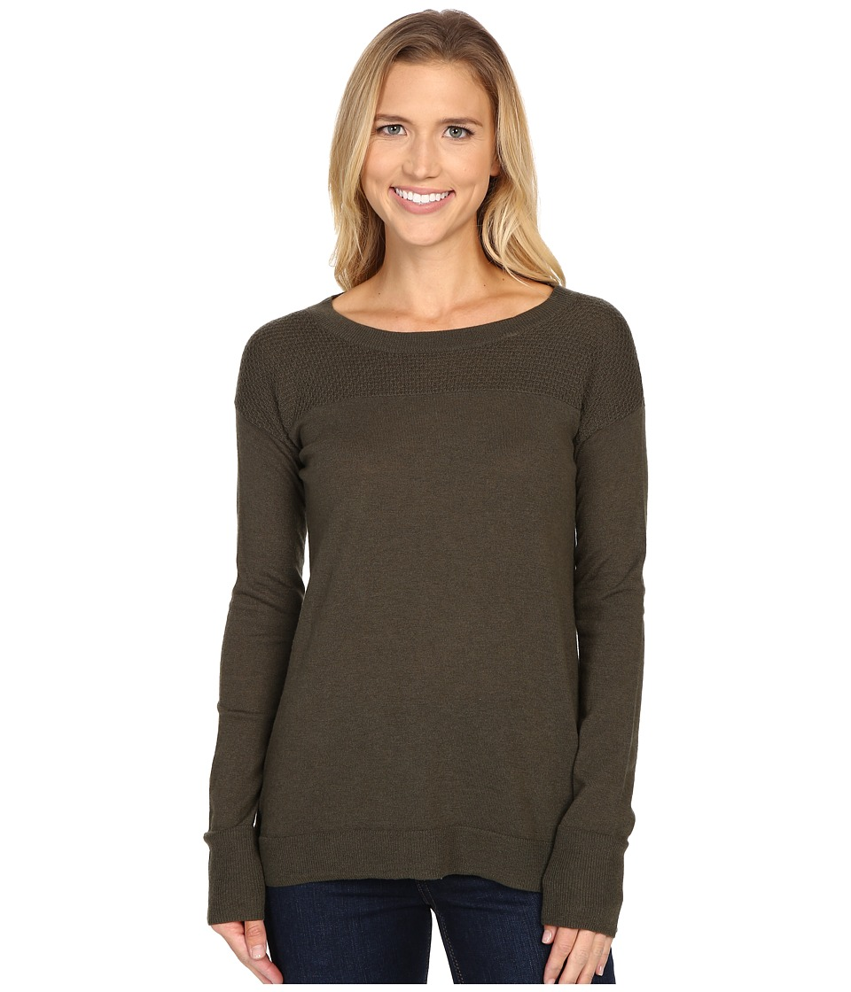 Toad&Co - Gypsy Crew Sweater (Dark Moss) Women's Sweater