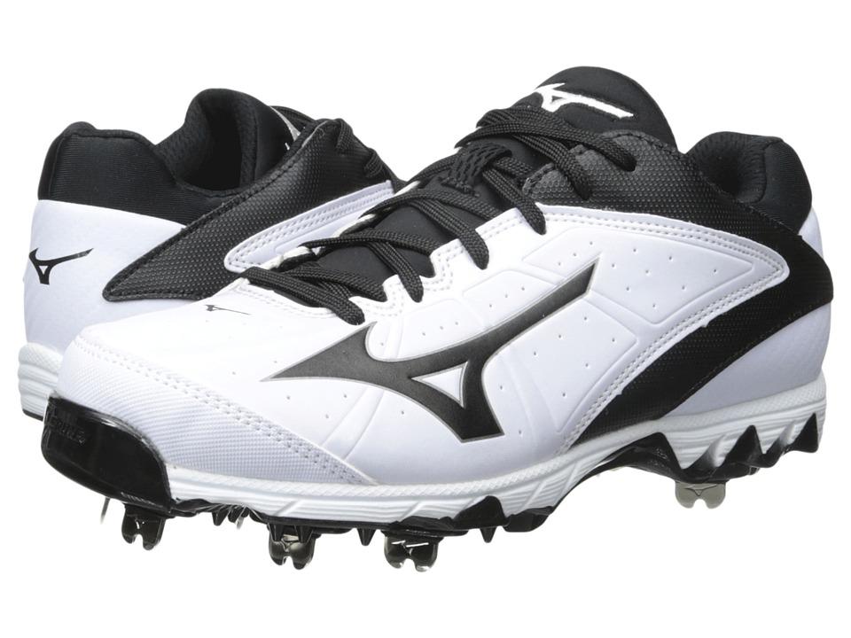 Mizuno - 9-Spike(r) Swift 4 (White/Black) Women's Cleated Shoes