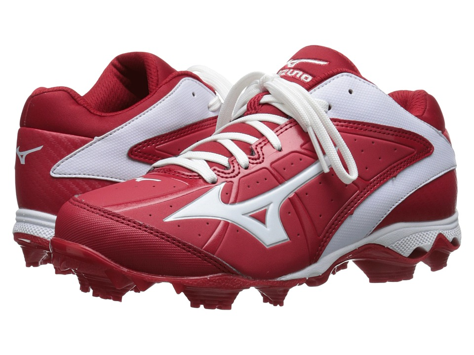 Mizuno - 9-Spike(r) Advanced Finch Elite 2 (Red/White) Women's Cleated Shoes