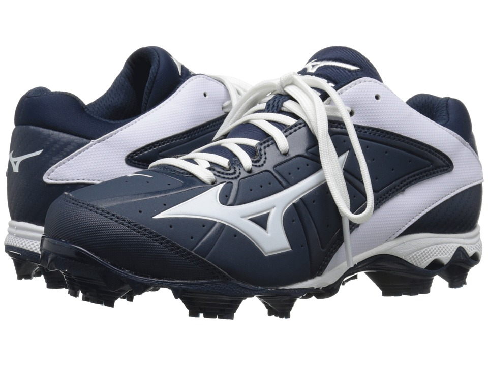 Mizuno - 9-Spike(r) Advanced Finch Elite 2 (Navy/White) Women's Cleated Shoes