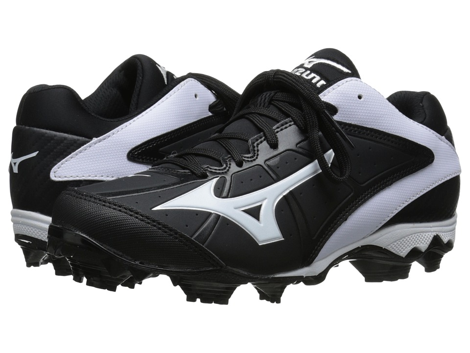 Mizuno - 9-Spike(r) Advanced Finch Elite 2 (Black/White) Women's Cleated Shoes