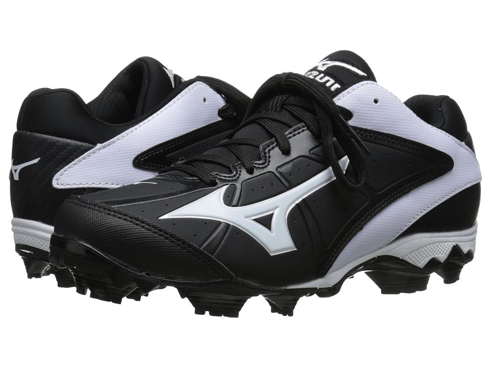Mizuno - 9-Spike(r) Advanced Finch Elite 2 (Black/White) Women's Cleated Shoes