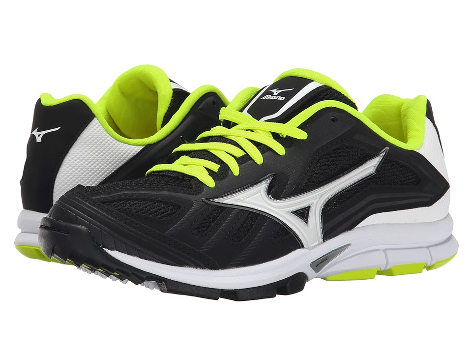 Mizuno - Players Trainer (Black/White) Women's Shoes