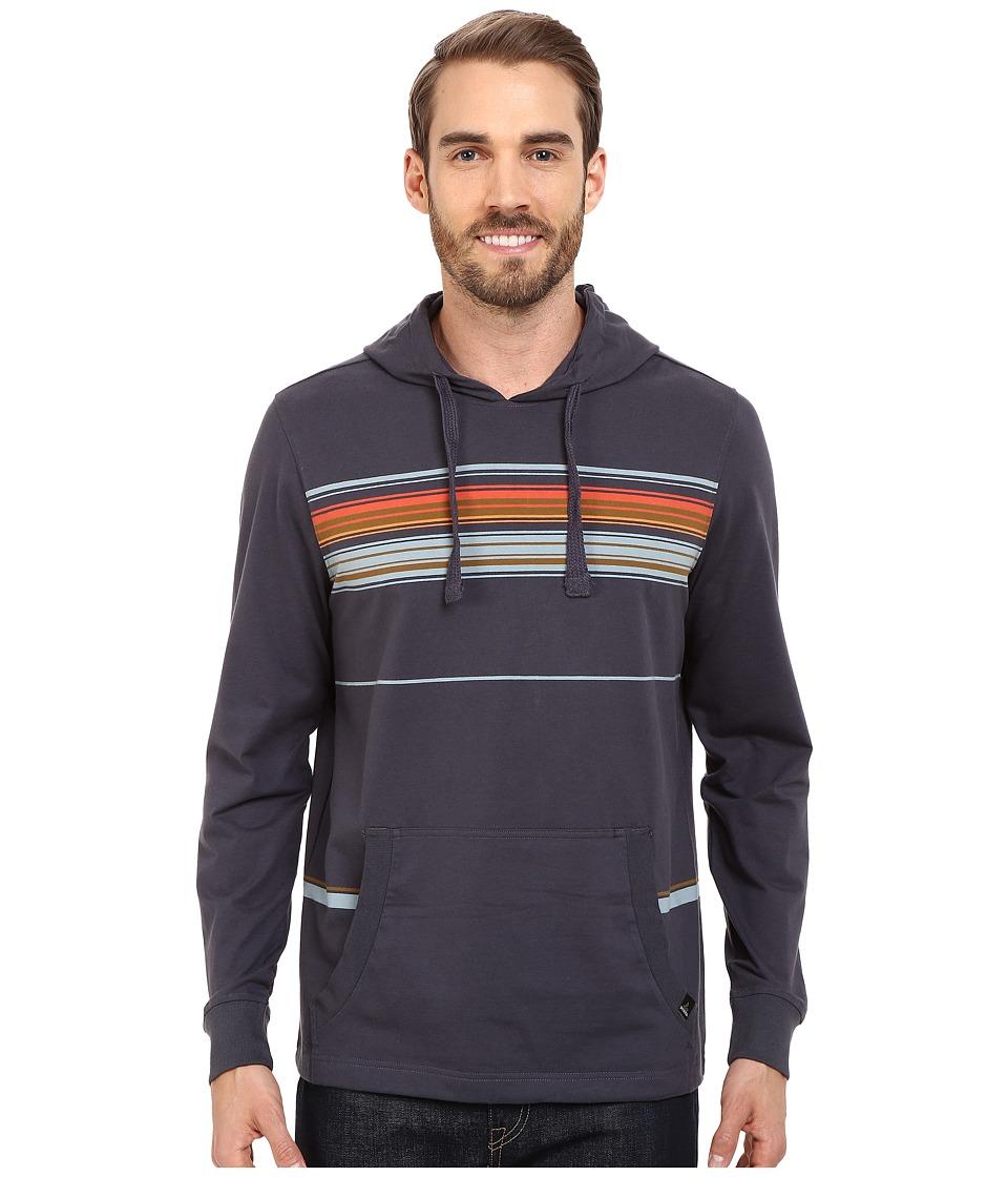 Prana - Setu Hoodie (Coal) Men's Sweatshirt