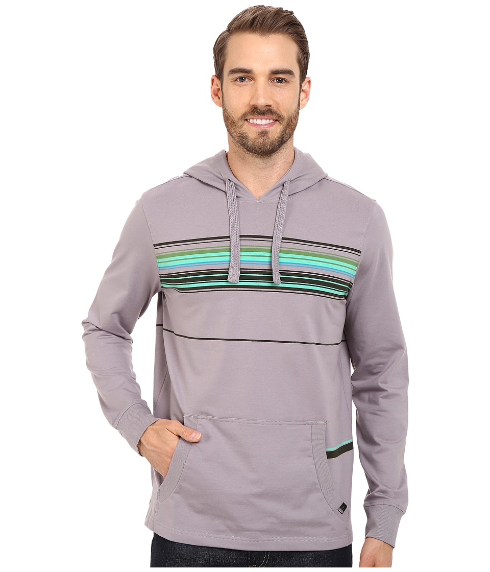 Prana - Setu Hoodie (Greystone) Men's Sweatshirt