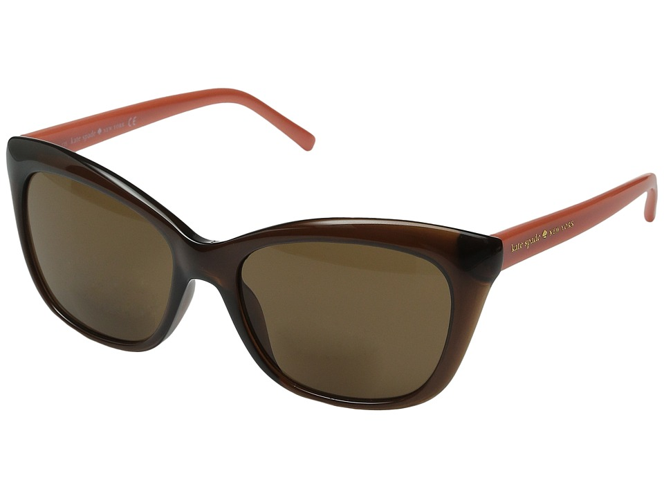 Kate Spade New York - Wendy/S (Brown) Reading Glasses Sunglasses
