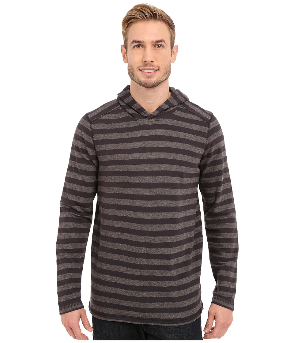 Prana - Dugan Hoodie (Gravel) Men's Long Sleeve Pullover