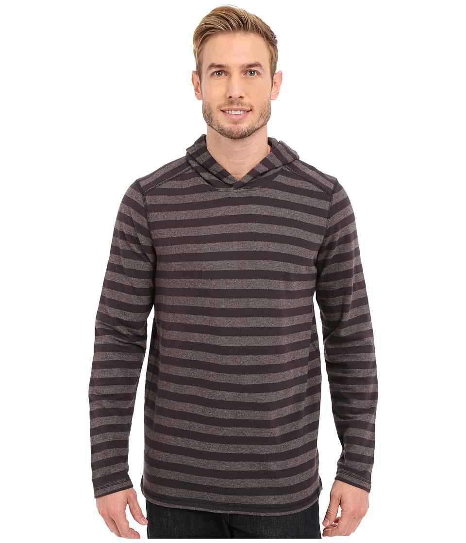 Prana - Dugan Hoodie (Gravel) Men's Long Sleeve Pullover
