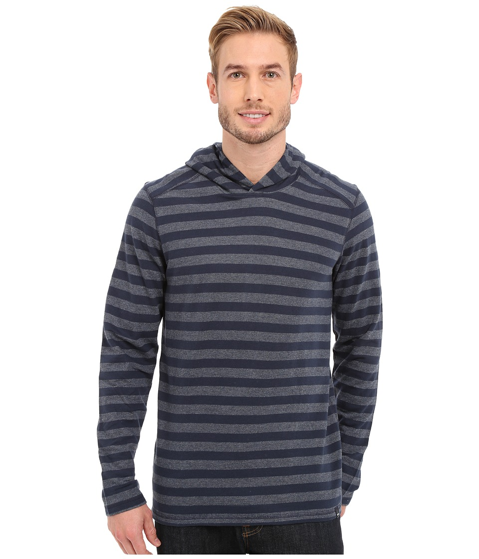 Prana - Dugan Hoodie (Nautical) Men's Long Sleeve Pullover