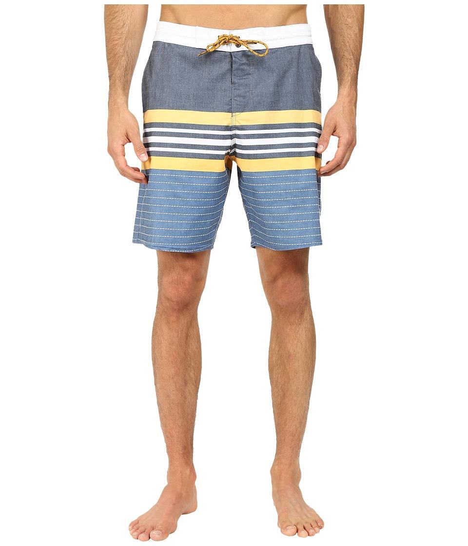 Billabong - Spinnder Lo Tides 19 Boardshort (Blue) Men's Swimwear