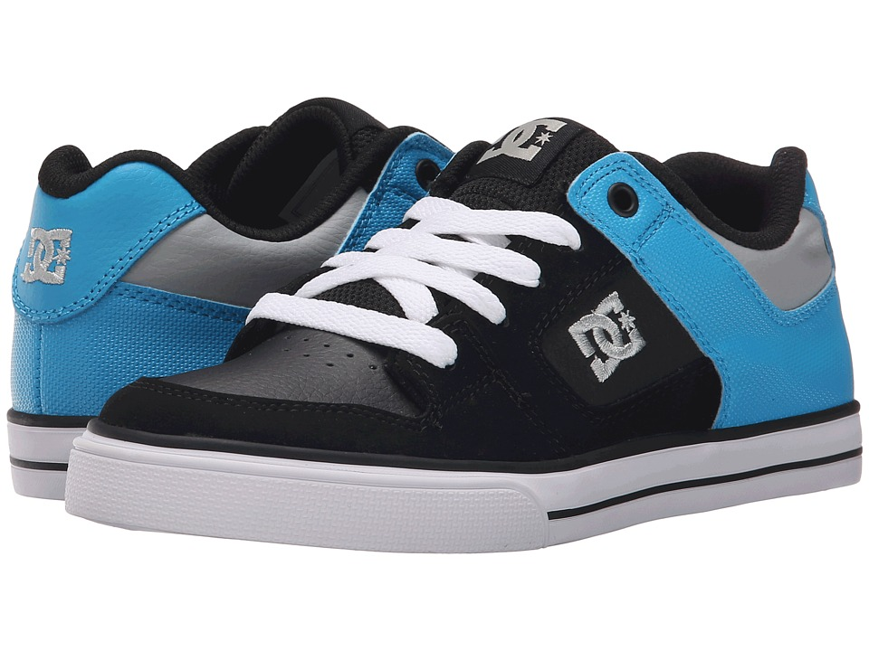 DC Kids - Pure (Big Kid) (Black/Bright Royal) Boys Shoes