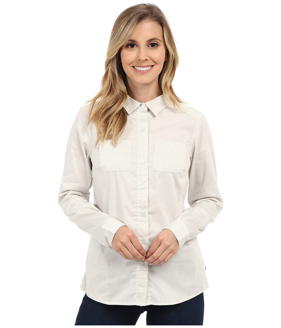 Toad&Co Panoramic Long Sleeve Shirt (Smoke Stripe) Women