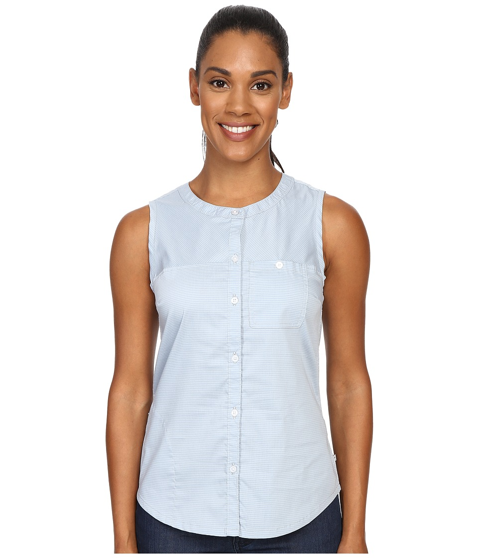Toad&Co - Panoramic Tank Top (Weathered Blue Stripe) Women's Sleeveless