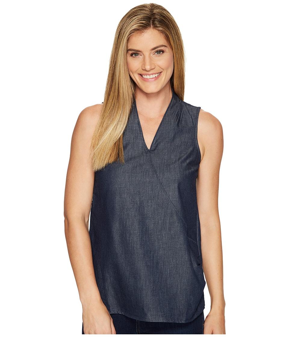 Toad&Co - Wayfarer Sleeveless Shirt (Nightsky) Women's Sleeveless