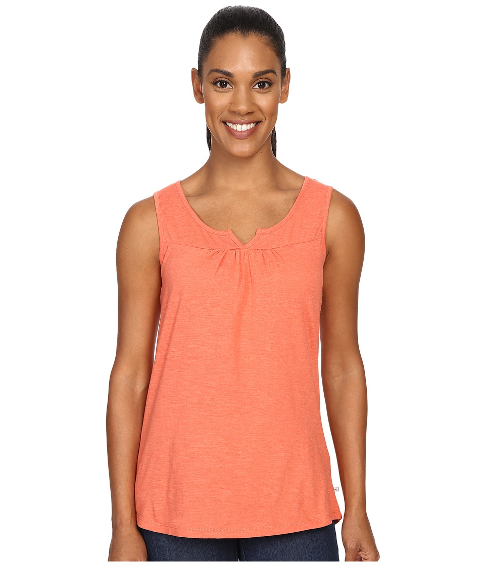 Toad&Co - Palmilla Notched Tank Top (Cedar) Women's Sleeveless