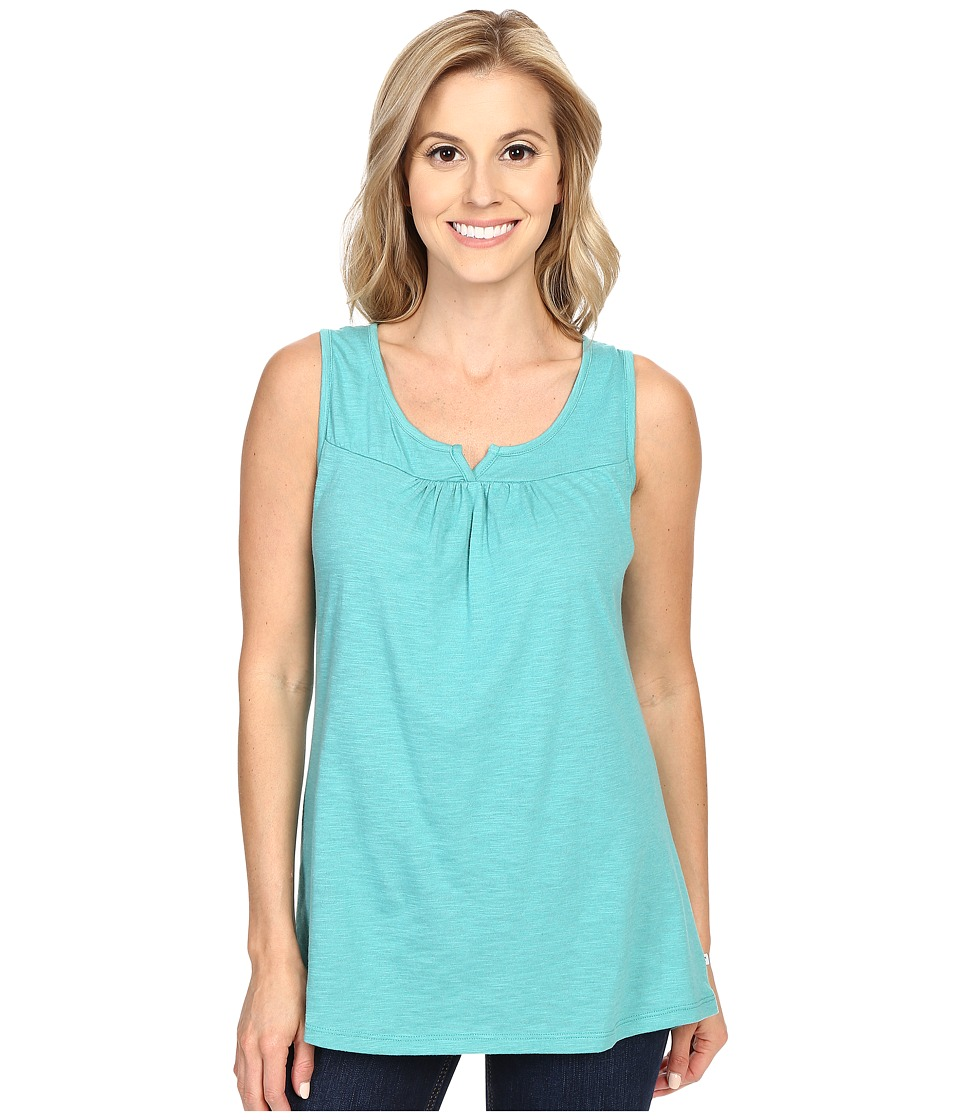 Toad&Co - Palmilla Notched Tank Top (Dark Turquoise) Women's Sleeveless
