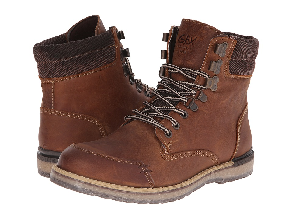 GBX - Mudguard Sebastian (Brown 1) Men's Boots