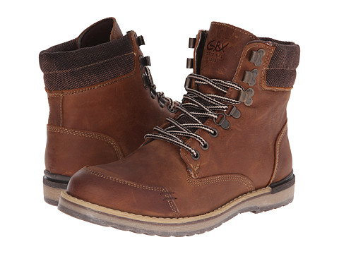 GBX - Mudguard Sebastian (Brown 1) Men's Boots