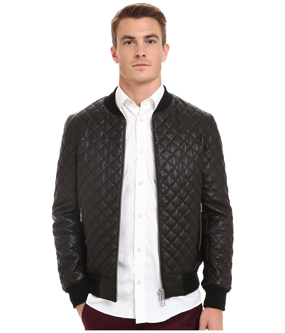 7 Diamonds - Lafayette Jacket (Black) Men's Coat