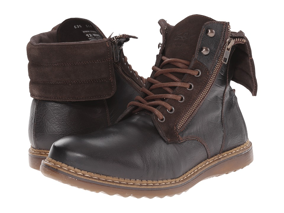 GBX - Trammel-57689 (Brown) Men's Lace-up Boots